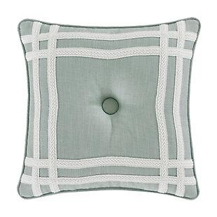 "J. Queen New York Patricia 18"" Square Decorative Throw Pillow, , rollover"