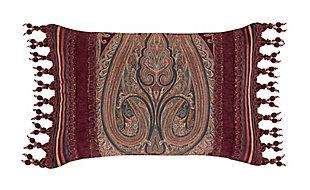 J. Queen New York Garnet Boudoir Decorative Throw Pillow, , rollover