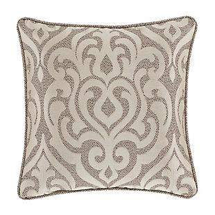 "J. Queen New York Milan 20"" Square Decorative Throw Pillow, , rollover"