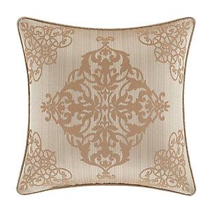 "Five Queens Court Cresmont 18"" Square Decorative Throw Pillow, , rollover"