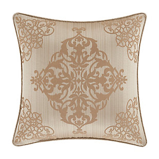 "Five Queens Court Cresmont 18"" Square Decorative Throw Pillow, , large"