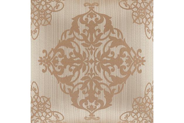 Five Queens Court Cresmont 4-Piece Queen Comforter Set, Gold, large