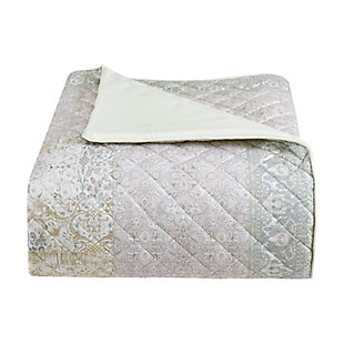 Piper & Wright Melissa Full/Queen Quilt, Blush, large