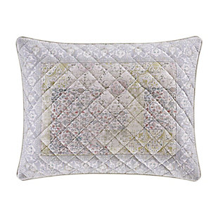 Piper & Wright Melissa Quilted Standard Sham, Blush, rollover