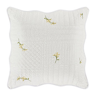 Piper & Wright Sandra Quilted Euro Sham, , large
