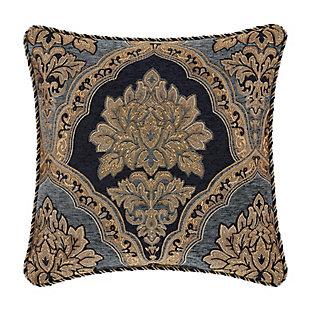 "Five Queens Court Bristol 18"" Square Decorative Throw Pillow, , rollover"
