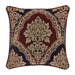 """Five Queens Court Middleton 18"""" Square Decorative Throw Pillow, , rollover"""