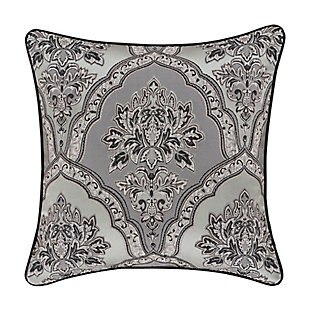 "Five Queens Court Silverstone 20"" Square Decorative Throw Pillow, , rollover"