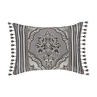 Five Queens Court Silverstone Boudoir Decorative Throw Pillow, , rollover