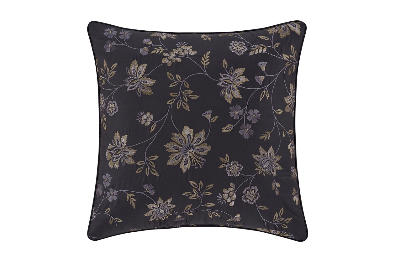 J Queen New York Delilah 20 Square Decorative Throw Pillow Ashley Furniture Homestore