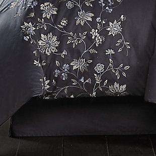 J. Queen New York Delilah 4-Piece Queen Comforter Set, Indigo, large