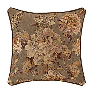 "J. Queen New York Camellia 18"" Square Decorative Throw Pillow, , rollover"