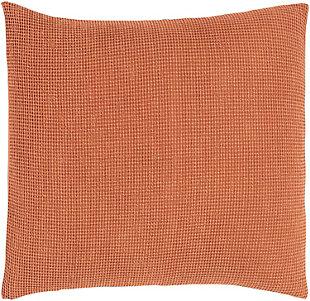 Surya Wafford Euro Sham, Orange, large