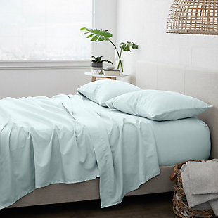 Home Collection Premium Ultra Soft 3-Piece Twin Bed Sheet Set, Mint, rollover