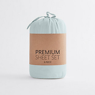Home Collection Premium Ultra Soft 3-Piece Twin Bed Sheet Set, Mint, large