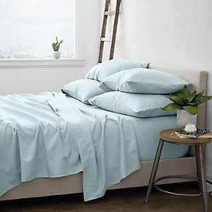 Home Collection Luxury Ultra Soft 4-Piece Twin Bed Sheet Set, Mint, rollover