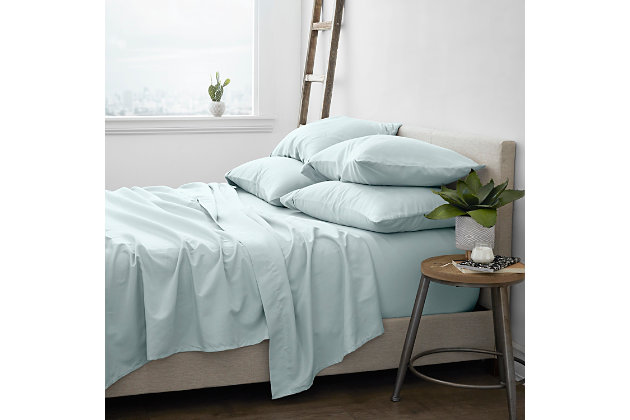 Home Collection Luxury Ultra Soft 4-Piece Twin Bed Sheet Set, Mint, large