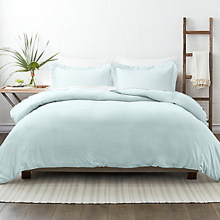 Home Collection Premium Ultra Soft 2-Piece Twin Duvet Cover Set, Mint, rollover