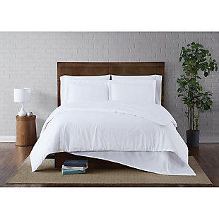 Truly Soft Everyday 2-Piece Twin XL Duvet Set, White, rollover