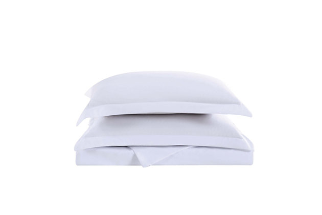 Truly Soft Everyday 2-Piece Twin XL Duvet Set, White, large