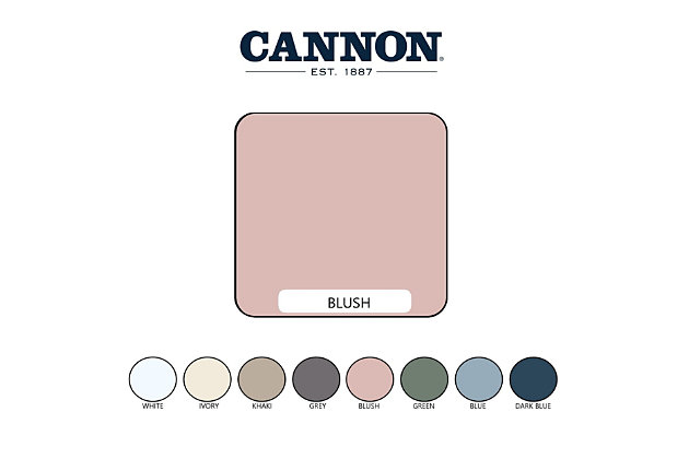 Cannon Heritage 6-Piece Queen Sheet Set, Blush, large