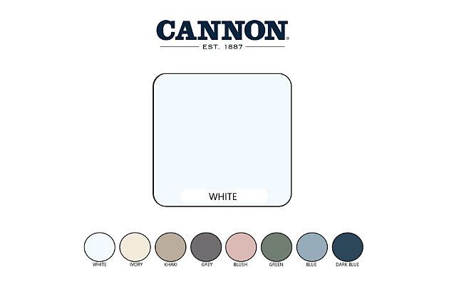 Cannon Heritage 4-Piece Twin Sheet Set, White, large
