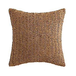Oceanfront Resort Coco Paradise Raffia Pillow, , large