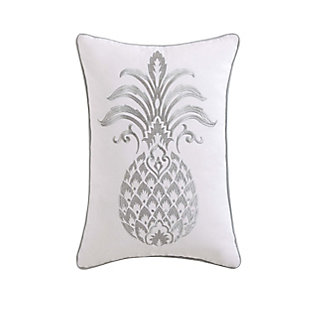Oceanfront Resort Tropical Plantation Pineapple Pillow, , large
