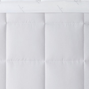 London Fog Super Soft Twin Down Alternative Comforter, White, large