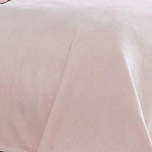 Truly Soft Velvet Plush Throw, Blush, large
