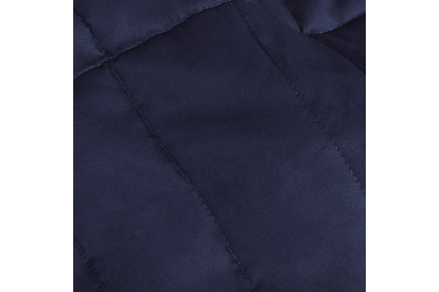 Casper Weighted Blanket 15lbs, Blue, large