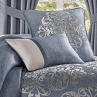 J. Queen New York Richmond Boudoir Decorative Throw Pillow, , rollover