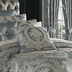 "J. Queen New York Nicolette 18"" Square Decorative Throw Pillow, , rollover"