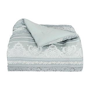 J. Queen New York Riverside Queen 4 Piece Comforter Set, Spa, large