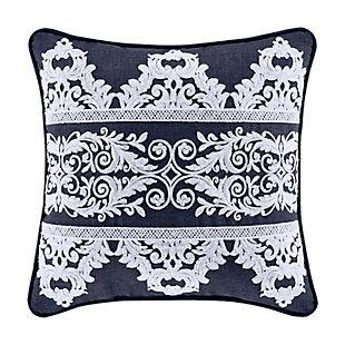 "Five Queens Court Shelburne 16"" Square Decorative Throw Pillow, , large"