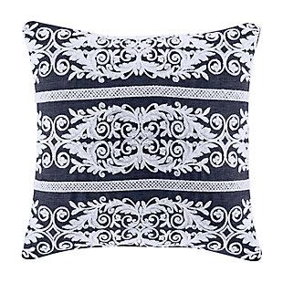"Five Queens Court Shelburne 18"" Square Decorative Throw Pillow, , large"