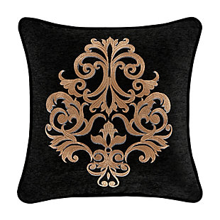 """J. Queen New York Lauretta 18"""" Square Embellished Decorative Throw Pillow, , large"""