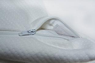 Healthy Sleep Ultra-Tech Tencel Advanced Queen Pillow Protector, White, rollover