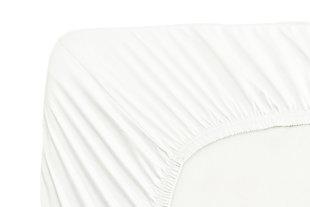 Healthy Sleep Ultra-Tech Tencel Twin Sheet Set, White, large