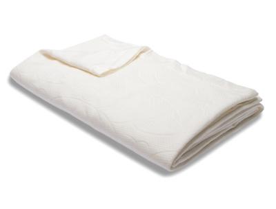 Healthy Sleep Ultra-Tech Tencel Queen Blanket, White, large