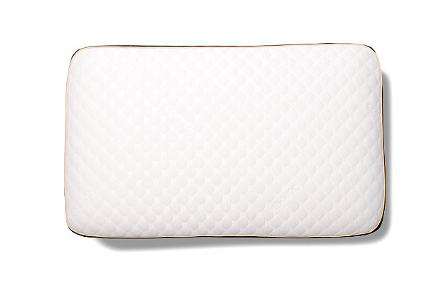 Healthy Sleep Therma-Tech Copper Medium Queen Pillow, White, large
