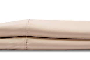 Healthy Sleep Cool-Tech Twin Sheet Set, Creme, rollover