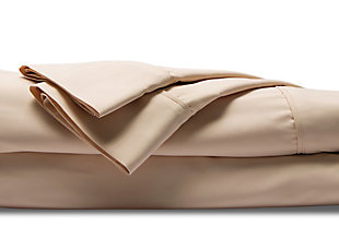 Healthy Sleep Cool-Tech Twin Sheet Set, Creme, large