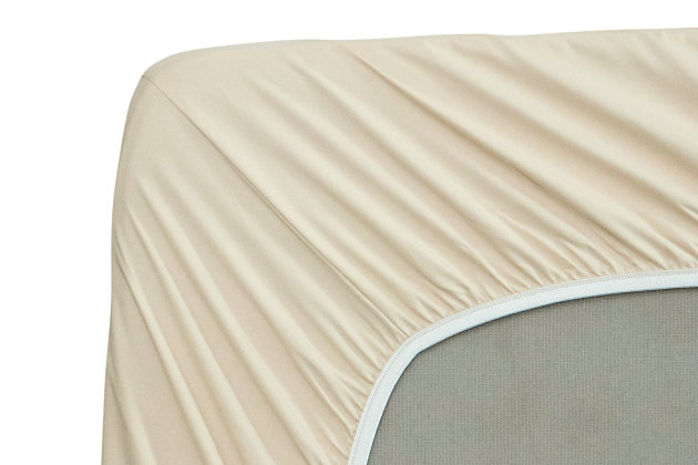 Healthy Sleep Cool-Tech Twin Sheet Set, Creme, large