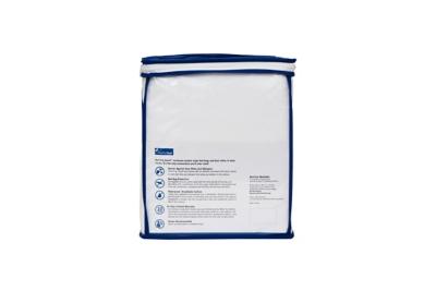 Healthy Sleep Premium Twin Encasement, White, large