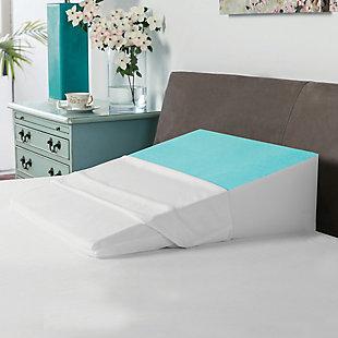 SensorPEDIC® Memory Foam Bed Wedge with Gel Coating, , rollover