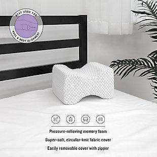SensorPEDIC® Conforming Memory Foam Knee Support Pillow, , rollover