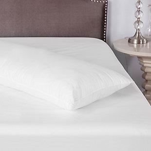 SensorPEDIC® CoolMAX® 400 Thread Count Cotton-Rich Fiber Body Pillow, , rollover