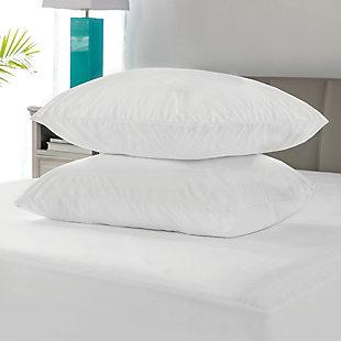 SensorPEDIC® MicroShield Antiallergen Jumbo Pillow Protector Pair, , rollover
