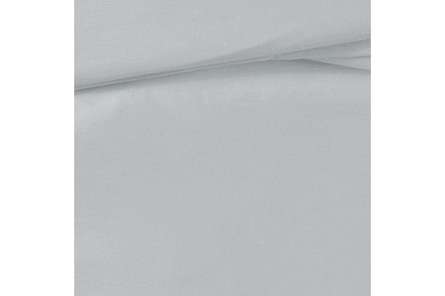 Truly Calm Silver Cool Split King 5 Piece Sheet Set, Gray, large